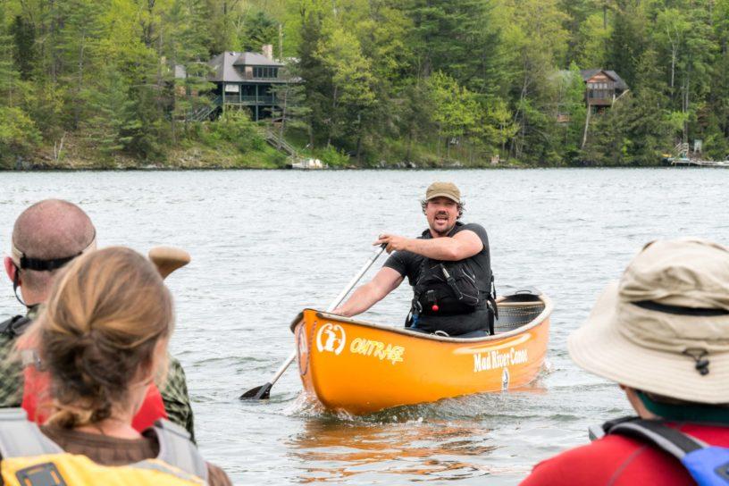 A canoe instructor.
