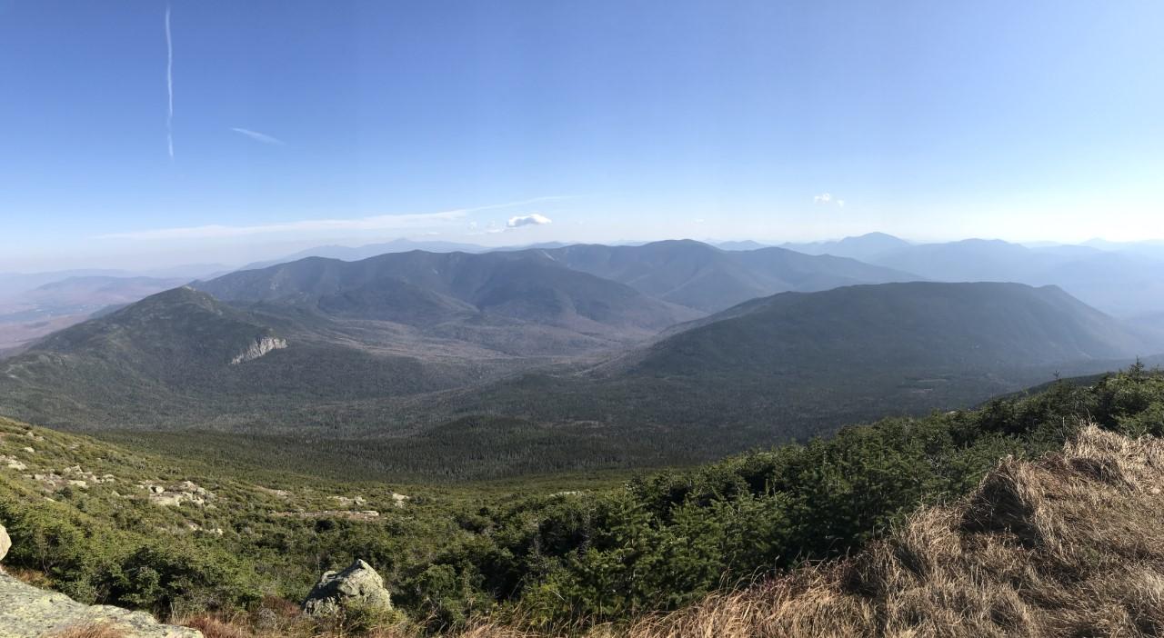 A mountain range.