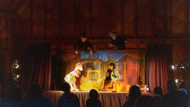 A puppet show.